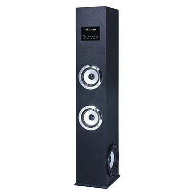 Craig cht973 2.1 Channel Bluetooth Tower Speaker System, Black