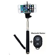 Minisuit Adjustable Selfie Stick with Bluetooth Remote Shutter