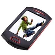 """Naxa nmv179x Portable 8GB Media Player with 2.8"""" Touch Screen, Red"""