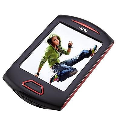 Naxa nmv179x Portable 8GB Media Player with 2.8