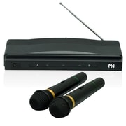 Nutek mc-0306 Professional Dynamic Wireless Microphone System, Black