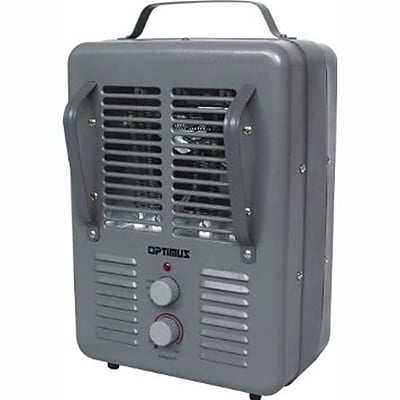 Optimus 1500 W Portable Utility Heater; Gray (h-3013)