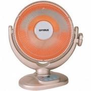 "Optimus H-4439 14"" Oscillation Dish Heater, Champagne"