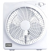 "Optimus 10"" Box Fan, White (f-1022)"