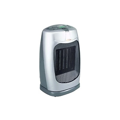 Optimus 1500 W Oscil Ceramic Heater, White (h-7300)