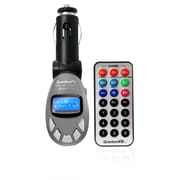 QFX  Wireless FM Transmitter, Silver