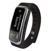 """Supersonic  sc-61sw 0.91"""" Fitness Wristband with Bluetooth Pedometer, Black"""