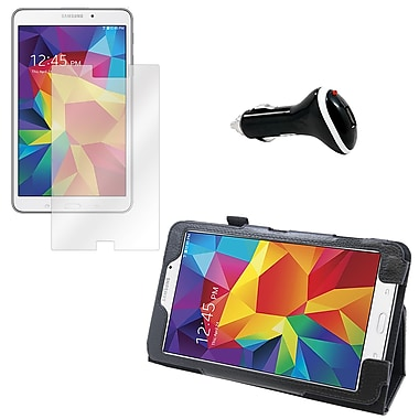 Mgear Screen Protector, Folio and Charger for Galaxy Tab 4 T330 (91554)