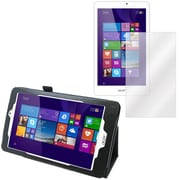 Mgear Screen Protector and Folio for Acer Iconia Tab W1810 (91599)