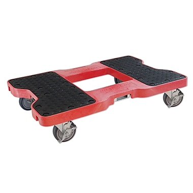Snap-Loc 1500 lb. Capacity E-Strap Furniture Dolly; Red