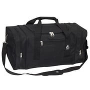 Everest 25'' Sporty Travel Duffel; Black