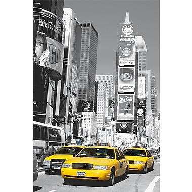 Brewster Home Fashions Ideal Decor Times Square Wall Mural