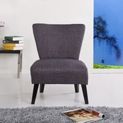 Container Alice Slipper Chair; Grey