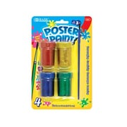 Bazic Glitter Poster Paint (Set of 4); Case of 144