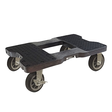 Snap-Loc 1500 lb. Capacity E-Strap Furniture Dolly; Black