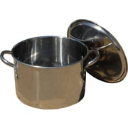 King Kooker Stock Pot w/ Lid; 9.25'' H x 13'' W x 10.19'' D