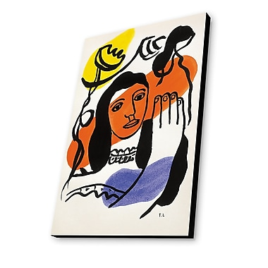 Lamp-In-A-Box Fernand Leger Painting Print Plaque