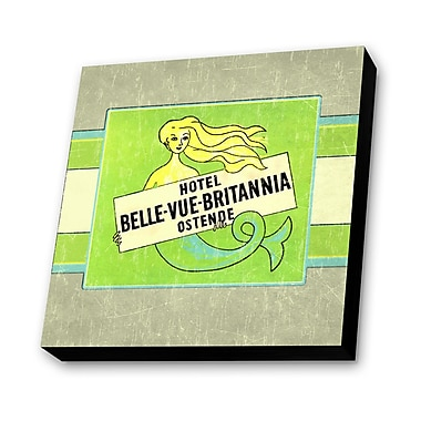 Lamp-In-A-Box Belle-Vue-Britannia Ostende, Belgium Graphic Art Plaque