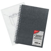 Cachet Classic Graph Sketchbook; 5'' H x 7'' W