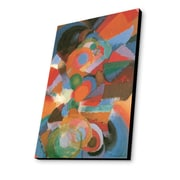 Lamp-In-A-Box Wright Abstraction on Spectrum 1914 by Stanton Macdonald Painting Print Plaque