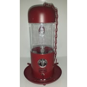 SierraCollection Tube Bird Feeder; Red