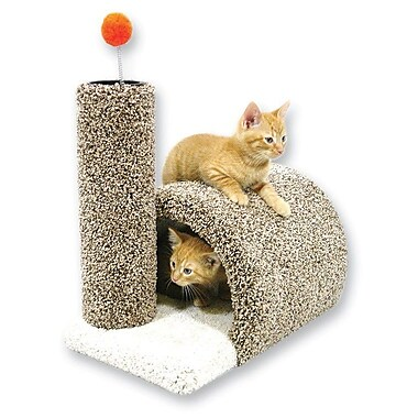 BeatrisePetProducts 17'' Kitty Barn Cat Condo