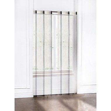 Regal Home Collection Misha String Curtain Panel