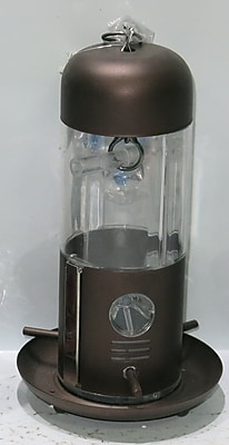SierraCollection Tube Bird Feeder; Bronze (WYF078277875123) photo