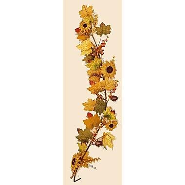 Worth Imports Mixed Burlap/Sunflower/Berry Garland