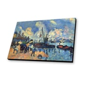 Lamp-In-A-Box The Seine at Bercy 1878 by Paul Cezanne Painting Print