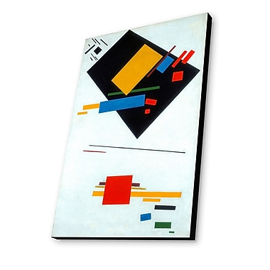 Lamp-In-A-Box Suprematist by Kazimir Malevich Painting Print Plaque