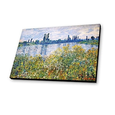 Lamp-In-A-Box Path on the Island of Saint Martin 1881 by Claude Monet Painting Print Plaque