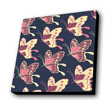 Lamp-In-A-Box Butterflies Graphic Art Plaque
