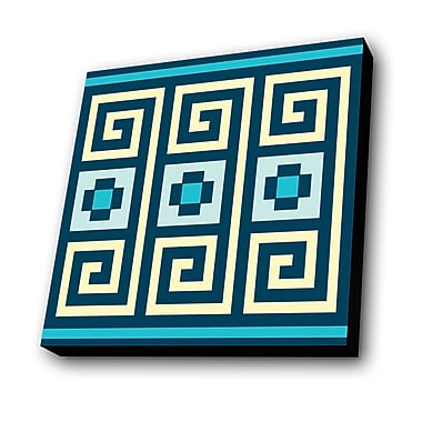 Lamp-In-A-Box Pattern 001 Graphic Art Plaque