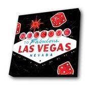 Lamp-In-A-Box Las Vegas Vintage shade Graphic Art Plaque