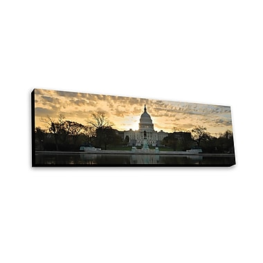 Lamp-In-A-Box Washington DC by Songquan Deng Photographic Print Plaque