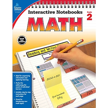 Interactive Notebooks Math Grade 2 Resource Book Paperback(104647)