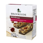 Brookside Dark Chocolate Fruit and Nut Cherry Pomegranate Standard Bar, 1.4oz, 12 Count (91205)