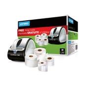 Offre groupée d'étiqueteuse Dymo LabelWriter 450 et étiquettes (4 rouleaux d'étiquettes inclus)