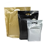 "B2B Wraps Fold Over Die-Cut Bags Solid Fashion Colours, 9 x 11 1/2 x 2"", 500/Pack"