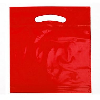 B2B Wraps Fold Over Die-Cut Bags Solid Fashion Colours, 9 x 11 1/2 x 2