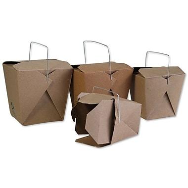 Unisource – Boîtes chinoises à emporter, 8 oz, 3 x 2 3/8 dessus (po) x 2 3/4 haut. (po), blanc, 100/pqt