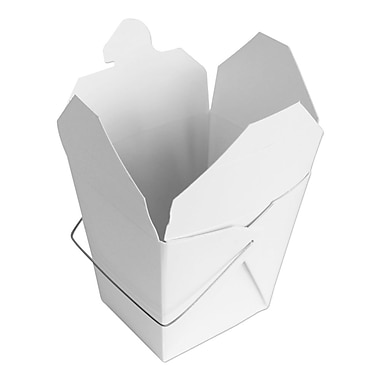 Unisource Chinese Take-out Boxes, 32oz- Top 3 3/8x2 6/8