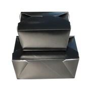 "Unisource Bio-Pak Take Out Boxes, #1- Top 5 x 4 1/2"" x H 2 1/2"" , 50/Pack"