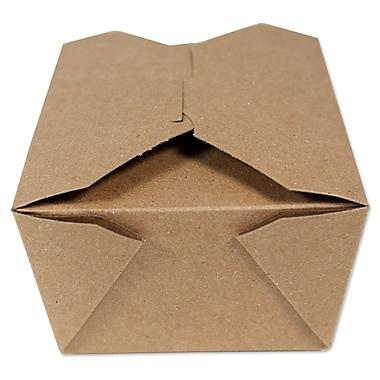 Unisource Bio-Pak Take Out Boxes, #3- Top 8 1/2 x 6 1/4