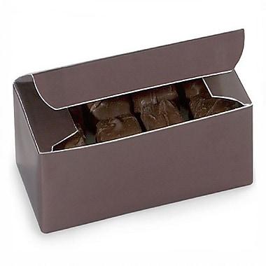 Nashville Wraps – Boîtes de chocolats 1/2 lb, 5 1/2 x 2 3/4 x 1 3/4 po, chocolat, 25/paquet
