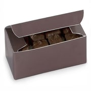 Nashville Wraps 1 lb Chocolate Candy Boxes, Chocolate, 25/Pack