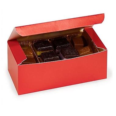 Nashville Wraps 1 lb Chocolate Candy Boxes, 7x3-3/8x2