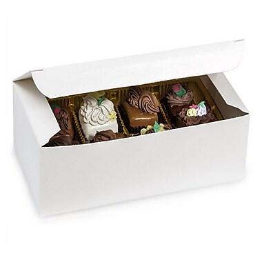 Nashville Wraps – Boîtes de chocolats 1 lb, 7 x 3 3/8 x 2 po, blanc, 25/paquet