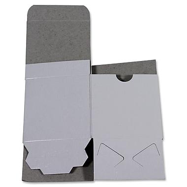 B2B Wraps - Boîte-cadeau une pièce, blanc lustré, 8 x 8 x 3 1/2 po, paq./25